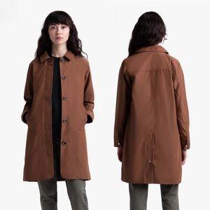 Herschel Women's Mac Jacket Saddle Brown